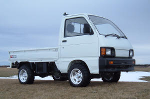 Picture of Mini-truck with Rim #D4110