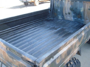 Picture of mini truck with Spray in Bedliner